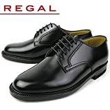 ブラック 25.5cm REGAL リーガル 2504 NA プレーントゥ・ビジネスシューズ