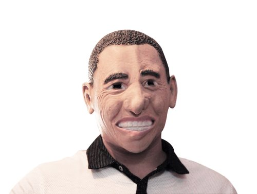 Celebrity Masks For Halloween Christmas, Obama Full Face Party Mask