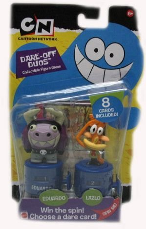 Picture of Mattel Cartoon Network Dare off Duos Eduardo & Lazlo Collectible Figures (B000P6BMW4) (Mattel Action Figures)