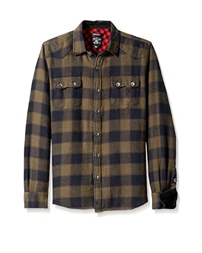 Gilded Age Men's Wyatt Western Flannel Shirt
