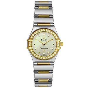 Omega Women's 1365.71.00 Constellation My Choice Diamond Mini Watch by Omega