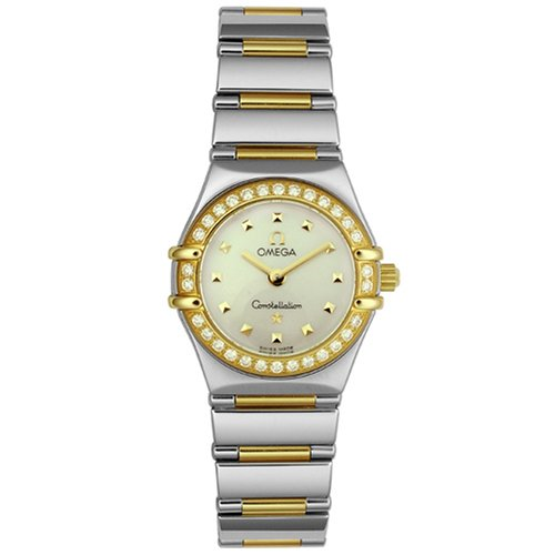 Omega Women's 1365.71.00 Constellation My Choice Diamond Mini Watch