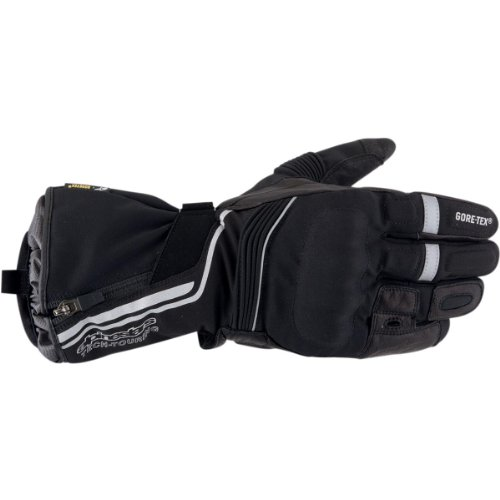 Alpinestars Jet Road Gore-Tex Gloves , Gender: Mens/Unisex, Distinct Name: Black, Primary Color: Black, Size: Sm, Apparel Material: Textile 3522013-10-S
