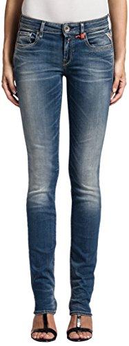 Replay Damen Straight Leg Jeans Vicki, Gr. W30/L32 (Herstellergröße: 30), Blau (Blue Denim 9) thumbnail