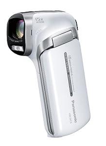 Panasonic デジタルムービーカメラ ホワイト HX-DC3-W
