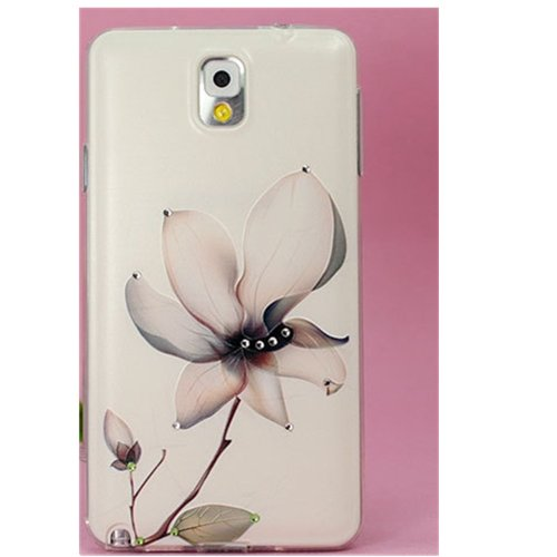 EVTECH(TM) 3D TPU Embossed Series Flower Handmade