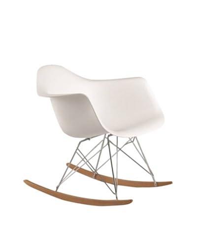 Fine Mod Rocker Armchair, White