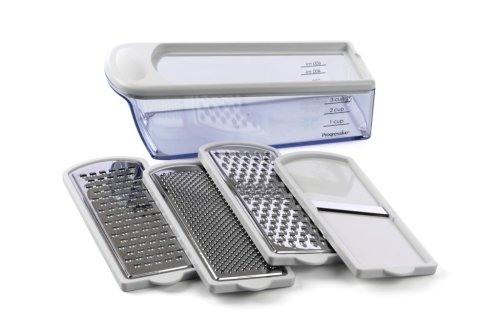 Progressive International HG-85 6-Piece Grater Set