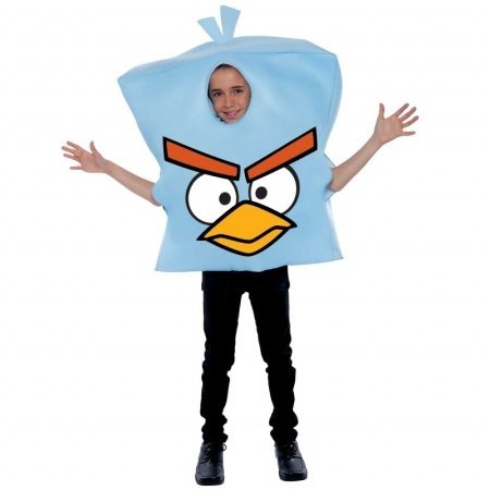 Angry Birds Space Ice Bird Child Costume