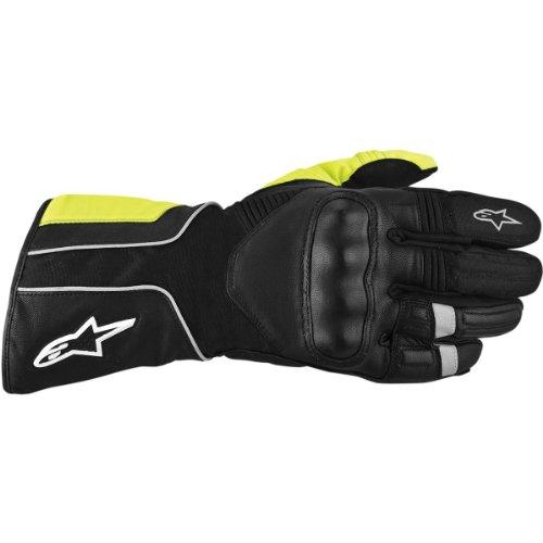 Alpinestars Overland Drystar Gloves 2012 Model Black/Yellow Fluo XL X-Large