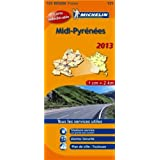 Carte REGION Midi Pyrenees 2013 n°525