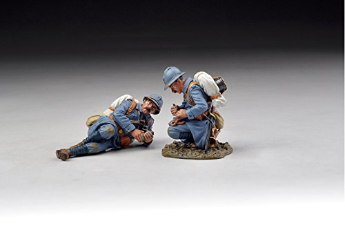 wwi-french-infantry-poilus-with-pigeon-messenger-2-piece-set-gw045-thomas-gunn-the-great-war-series-