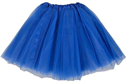 simplicity-womens-classic-elastic-3-layered-tulle-tutu-skirt-royal-blue
