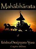 Mahabharata of Krishna-Dwaipayana Vyasa (Complete) (English Edition)