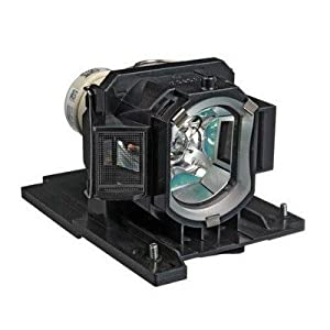 DT01181 - Lamp With Housing For Hitachi CP-A220N, CP-A221N, CP-A250NL, CP-A300N, CP-A301N, CP-AW250NM,CP-AW251N, ED-A220NM, iPJ-AW250NM, TEQ-ZW750 Projectors by Leader Electronics