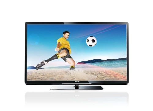 Philips 47PFL4007K/12 119 cm (47 Zoll) LED-Backlight-Fernseher, EEK A+ (Full-HD, 200Hz PMR, DVB-C/T/S, CI+, Smart TV Plus, WiFi ready, USB Recording) schwarz