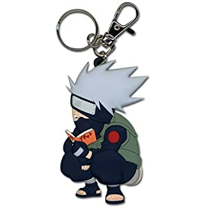 Amazon.com: Naruto: Chibi Kakashi Ver. 2 Key Chain: Automotive