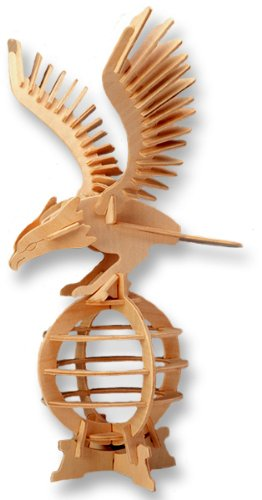 416FMoyj9sL Cheap Buy  3 D Wooden Puzzle   Eagle  Affordable Gift for your Little One! Item #DCHI WPZ E008