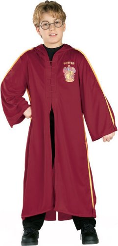 Quidditch Robe Costume - Large (Harry Potter Quidditch Costume Kit)