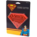ICUP DC Superman Logo Cookie Cutter, Clear