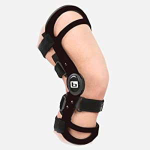 AXIOM Functional Ligament Knee Brace, Magnesium Athletic Left Large by Bledsoe Brace Systems