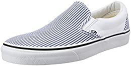 Vans Mens Classic Slip on Canvas Boat Shoes B00U12WWV2