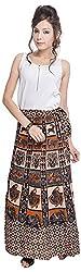 Soundarya Women's Cotton Wrap Skirt (6057, Long)