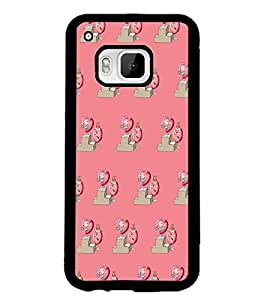 PRINTSWAG HEART PATTERN Designer Back Cover Case for HTC ONE M9S
