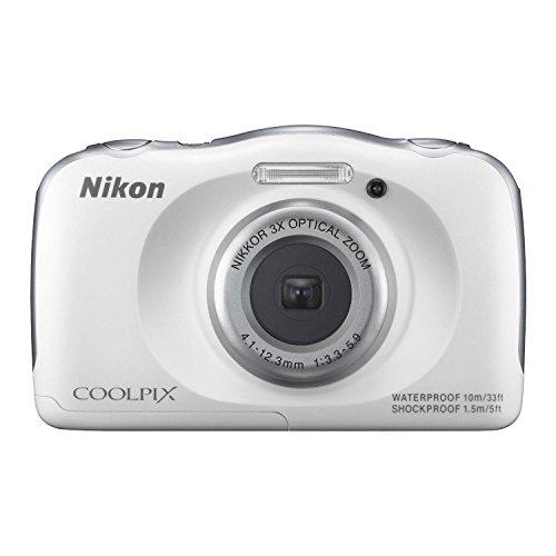 Nikon - Coolpix S33 13.2-megapixel Digital Camera - White