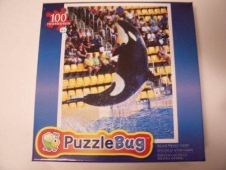 Puzzlebug 100 Piece Jigsaw Puzzle ~ Killer Whale Show - 1