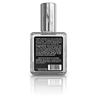 Best Cheap Deal for Healthy Attraction Extra Strength Pheromone Oil Infused Cologne for Men - Made with Andronone and Copulandrone Pheromones for Maximum Sexual Attraction - 1 Fl Oz Glass Bottle by Healthy Vibes - Free 2 Day Shipping Available