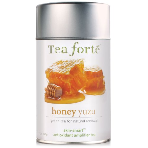 Tea Forte Skin Smart Loose Tea Canister-Honey Yuzu, 3.2 oz, 50 servings