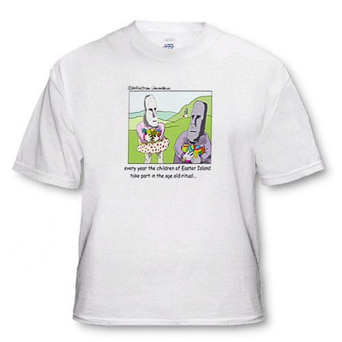 Old Traditions At Easter Island - Toddler T-Shirt (2T)