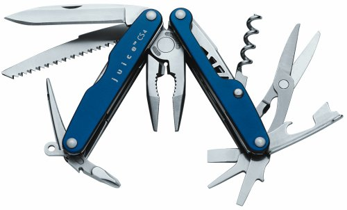 Leatherman Juice CS4 Multi Tool | Glacier Blue | Gift Box | 15 Features | Official UK Retailer