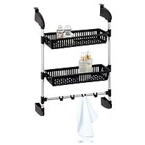 Overdoor 2 Basket Unit With Hook