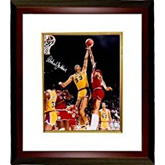 Kareem Abdul-Jabbar Autographed Hand Signed Los Angeles Lakers 16x20 Photo Custom...