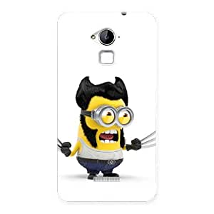 Clapcart Minion Design Printed Mobile Back Cover Case For Coolpad Note 3 / Coolpad Note 3 Plus - Multicolor