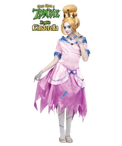 Once Upon a Zombie Cinderella Girls Costume