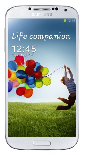 Samsung Galaxy S4 Smartphone (16GB UK SIM Free Unlocked) - White Black Friday & Cyber Monday 2014