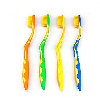 4 PCS Professional Health Care Nano Toothbrush Set for Travel