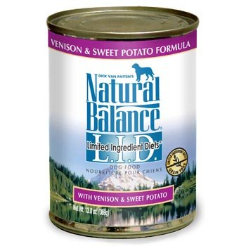 Limited Ingredient Diets, Venison and Sweet Potato Formula W