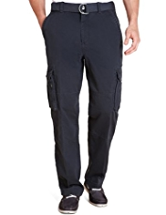 Big & Tall North Coast Utility Pure Cotton Cargo Trousers