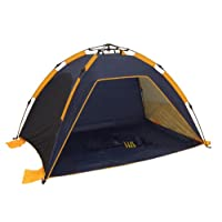 Genji Sports Instant Push Up Beach Tent Sun Shelter