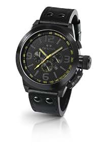 TW Steel Herren-Armbanduhr XL Canteen Style Chronograph Quarz TW-901