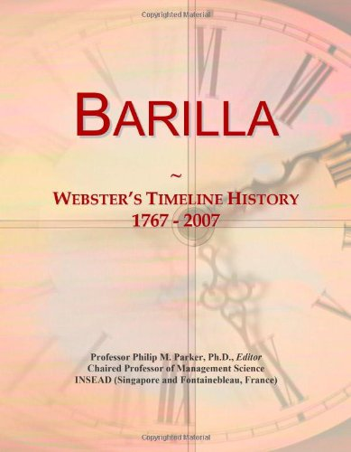 barilla-websters-timeline-history-1767-2007
