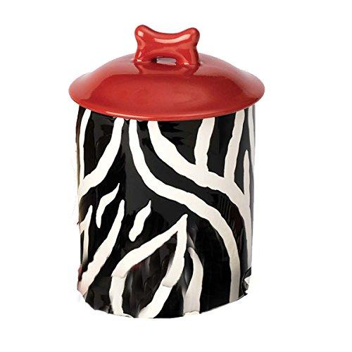 Zebra-Buzz-Dog-Treat-Jar