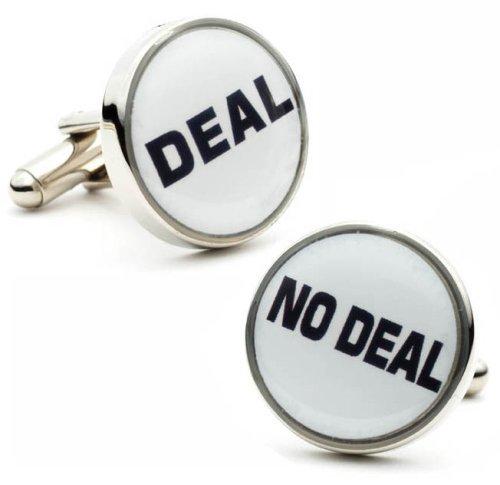 Dealmaker Deal No Deal Cufflinks Cuff Links