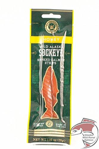 Wild Alaska Smoked Salmon Strip (Honey)
