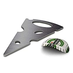 Hot Muggs Say Cheese Stainless Steel Bottle Opener.