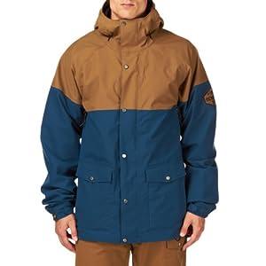 Buy Bonfire Tanner Snowboard Jacket Midnight Driftwood Mens Sz S by Bonfire